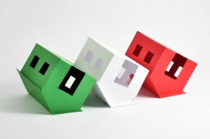 three flipped houses